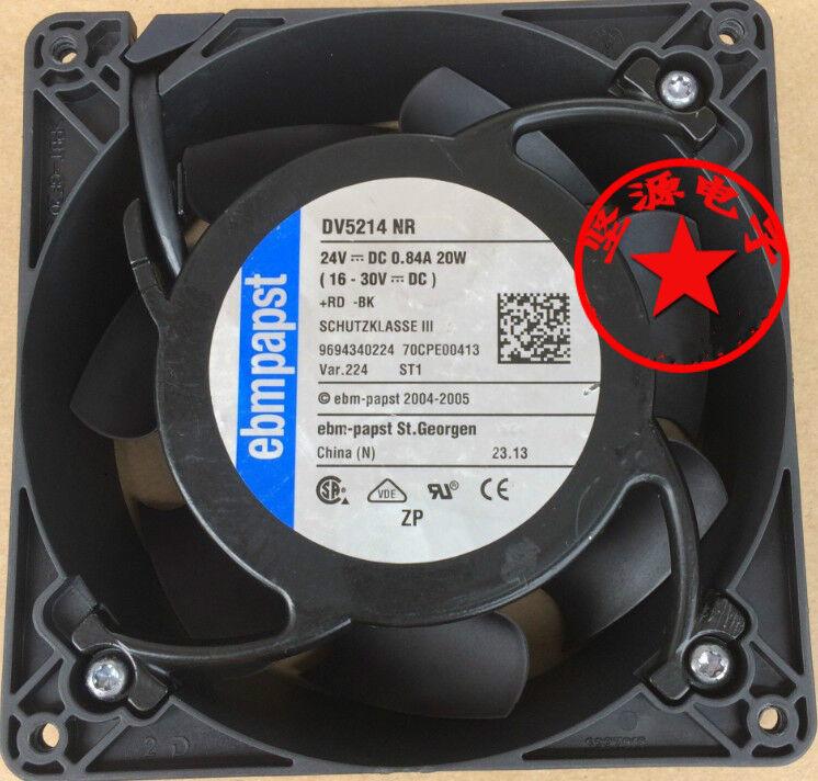 1Pcs EbmPAPST DV5214NR 24V 20W 12738 12.7cm fan