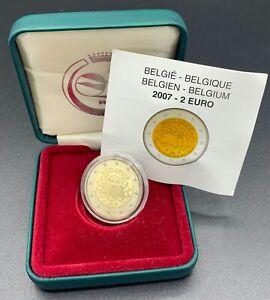2 EUROS BELGIQUE Traité de Rome BE 2007 PROOF