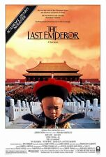 THE LAST EMPEROR Movie POSTER 27x40 John Lone Peter O'Toole Joan Chen Victor
