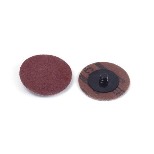 "10Pcs 2/"" 50mm Grit Type R Roll Discs Sanding Roloc Polishing Abrasive"