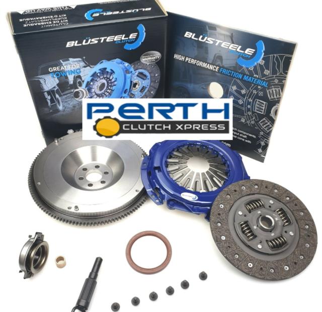 Heavy Duty Clutch Kit & Solid Flywheel for Nissan XTrail T30, T30 II, 2.5L 01-07