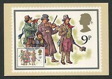 GB UK MK 1978 CHRISTMAS MUSIC MAXIMUMKARTE CARTE MAXIMUM CARD MC CM d404