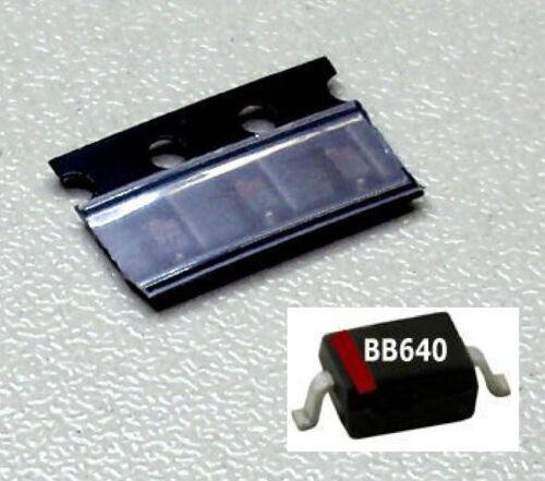 Kapazitäts-Dioden // SOD-323 // UHF-VHF BB640 3 Stück BB 640 M2824