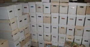 Image result for box of old comics