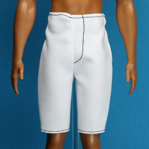 Barbie Blue White Denim Shorts for Original Ken Fashionistas Cali Cool Doll