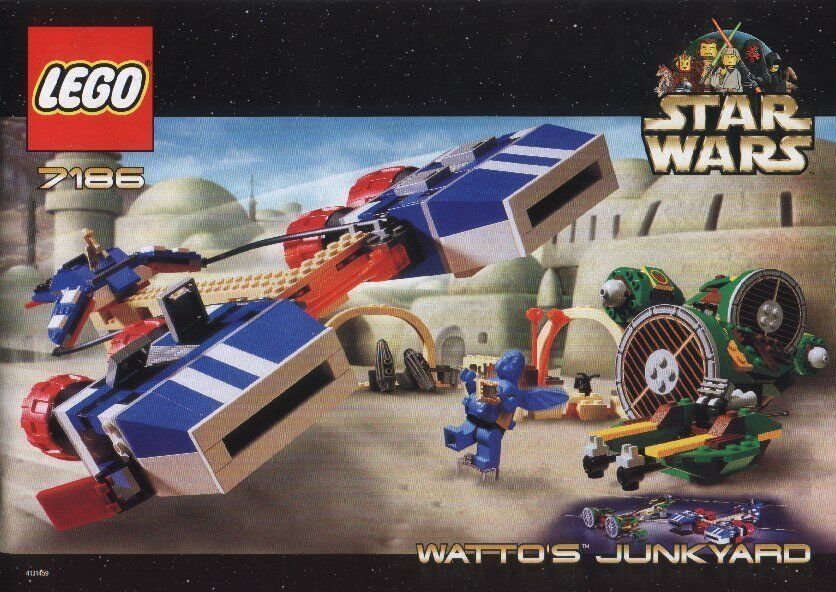 Lego Star Wars  7186 Watto's Junkyard New Sealed