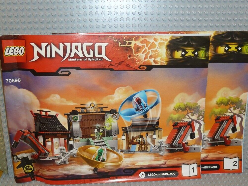 LEGO® Bauanleitung Ninjago 70590 Airjitzu Turnierarena instruction NEU