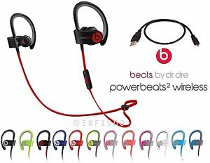 Apple Beats By Dr Dre Powerbeats 2 Wireless Bluetooth Headphones Accessories Ebay