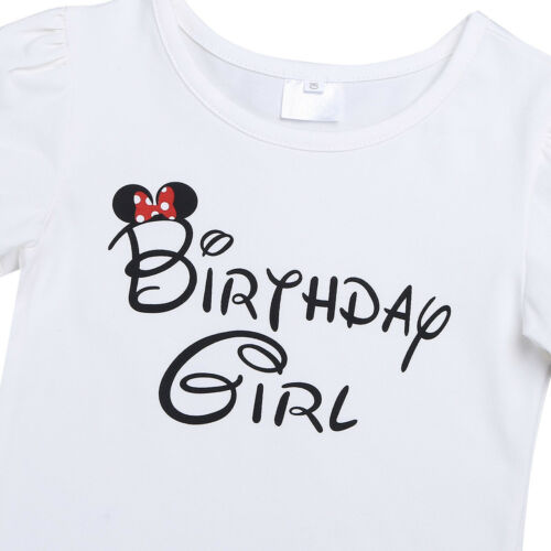 Minnie costume bébé fille robe tutu 1st Anniversaire Body Ange Fancy Outfit