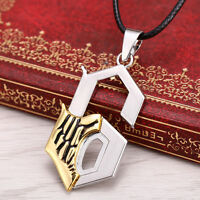 Cos Anime Bleach Blade Grimmjow Jeagerjaques 6 Pendant Break Face Necklace Charm