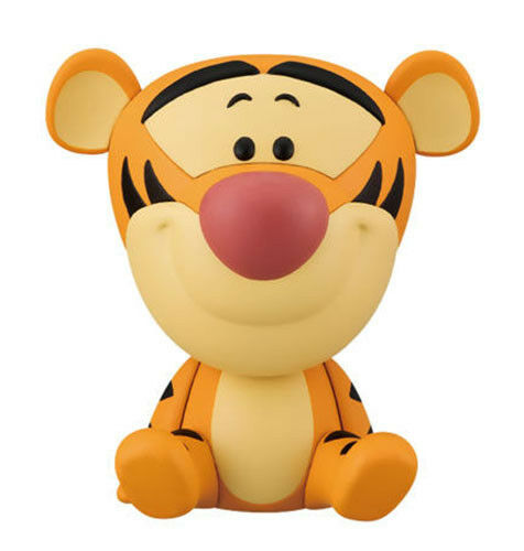 Bandai Disney Friends Capchara 3 Gashapon Figure Tigger Tiger