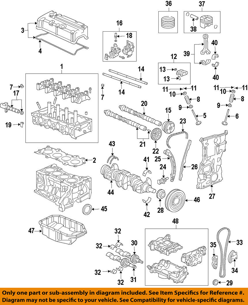 Honda Oem Engine Crankshaft Main Upper Bearing Bearings Ej22 Diagram Norton Secured Powered By Verisign
