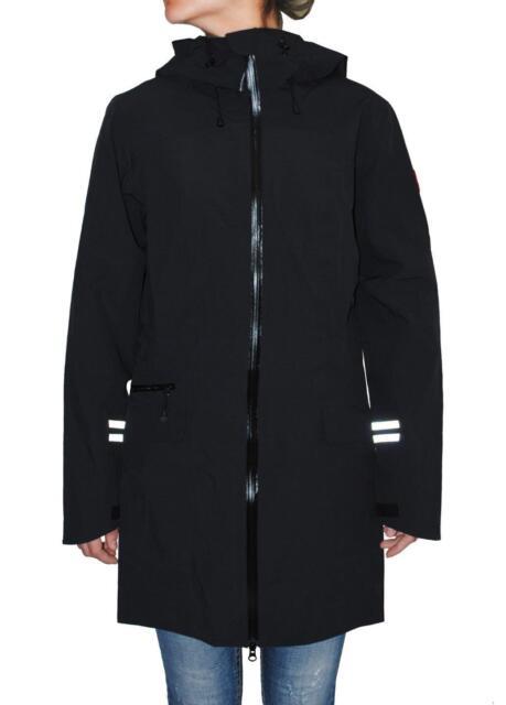 Canada Goose Women's Waterproof Coastal Shell Jacket , Black