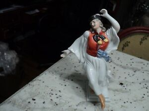 HEREND-GYPSY-DANCER-HUNGARIAN-EXQUISITE-PORCELAIN-FIGURINE-11-75-034-TALL
