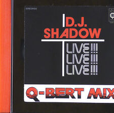 Maxi CD - D.J. Shadow - Q-Bert Mix (Live!!!) - A791