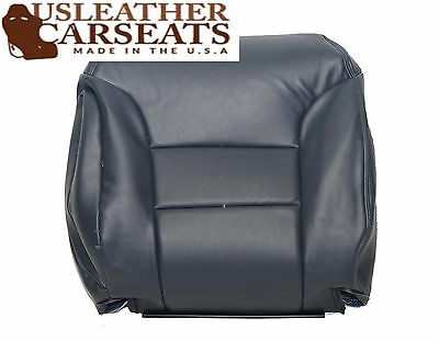 1995 to1999 Chevy Silverado Driver Upper top Lean Back Leather Seat Cover Tan