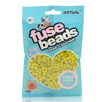 Artkal 1000 Midi Bügelperlen 5mm Key Lemon Pie S61 Bügelperlen Fuse Beads