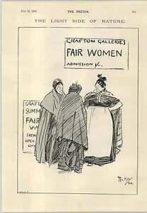 1894 How Men Work In Holland Fair Women Grafton Galleries Cartoons - Jarrow, United Kingdom - 1894 How Men Work In Holland Fair Women Grafton Galleries Cartoons - Jarrow, United Kingdom