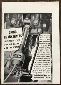 1961-Winona-Tool-Mfg-Minnesota-Print-Ad-Crankshaft-Grinder