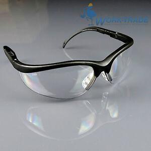 Schutzbrille-Sicherheitsbrille-Augenschutz-Gelpolster-Top-Qualitaet-DIK-EN166-NEU