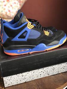 Nike 4 Air Jordan Lichtjes gebruikt met 12 schoenenmaat ontvangstbewijs Cavs shdtrQC