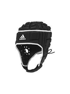 Adidas Rugby Headguard Black White IRB Head Guard Protection Gear ... 4541931a7e6