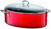 Wmf Silit Passion Colors Roasting Pan With Lid Energy Red 8.5 Qt Made In Germany on sale
