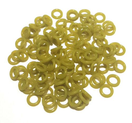 """VARIOUS COLORS Reaction Tackle Wacky O-Rings fits most Senko worms 3/"""" to 6/"""""""
