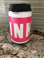 NEW VICTORIAS SECRET PINK WATER TRAVEL CHUG MUG COFFEE SUPER CUTE YOU PICK