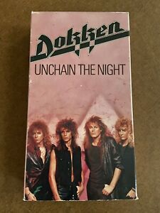 Dokken-Unchain-The-Night-1986-Rare-VHS-Hair-Metal-FREE-SHIPPING