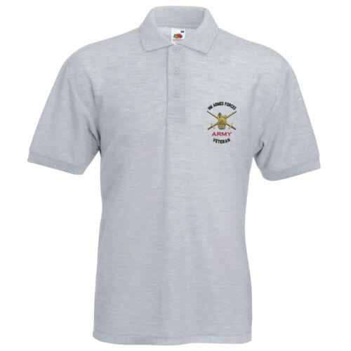 Army Armed Forces Veteran Polo Shirt