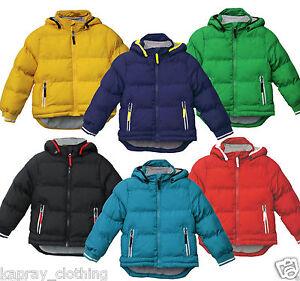 Baby-acolchada-chaqueta-acolchada-Abrigo-Chicos-Chicas-6-24-Meses-Con-Capucha-Invierno-Polar