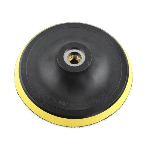 "Sanding Disc Pad 5/"" Hook Loop Sander Polishing Backup Plate M8 M10 M14 Thread A"