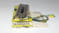 MÄRKLIN MARKLIN H0 : 5112 elemento di sgancio cond ottime in or. box : anno 1962