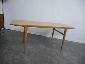 Details zu Vintage Couchtisch Tisch Danish Design 50er 60er Jahre Eiche Nussbaum