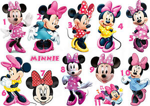 MINNIE-MOUSE-STICKER-AUTOCOLLANT-OU-TRANSFERT-TEXTILE-VETEMENT-T-SHIRT-MICKEY