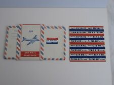 Air Mail Envelopes lot Konvolut 5 Stück