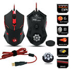 Gaming Mouse 3200 DPI Redragon M601 CENTROPHORUS Per PC 6 Buttons Weight Tuning