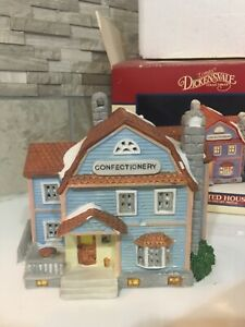 Lemax DICKENSVALE Village Confectionery 1993 Porcelain Christmas