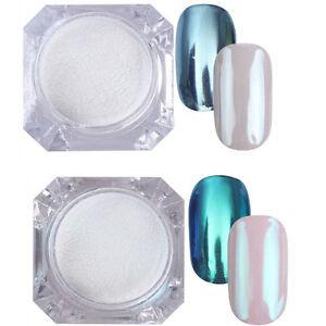 2Boxes-1G-BORN-PRETTY-Nail-Art-Mirror-Powder-Glitter-Chrome-Pigment-DIY-Dust