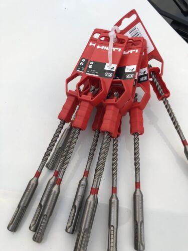 Hilti SDS Drill bit 6mm Hammer Drill rrp £9.50 X 5 Pack