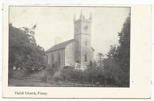 POSTCARDS-SCOTLAND-FINTRY-PTD-The-Parish-Church