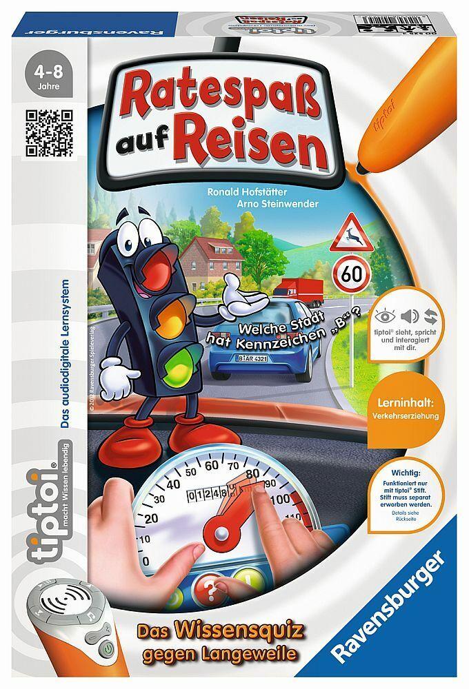 Tiptoi Tiptoi Tiptoi Ratespass Reisen Quizspiel Wissensquiz Strassenverkehr Verkehrssicherheit 31fe04
