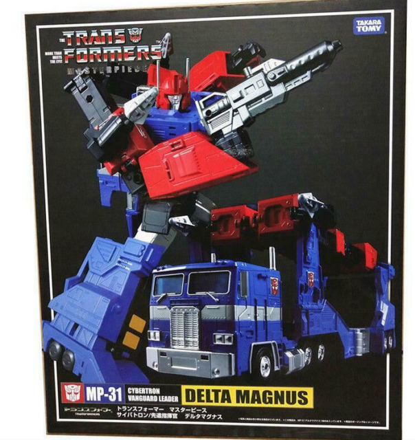 NEW TRANSFORMERS MASTERPIECE MP-31 CYBERTRON DELTA MAGNUS ACTION FIGURE BOXED