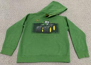 John-Deere-Tractor-Green-Graphic-Logo-Youth-Boy-s-Large-7-Sweatshirt-Hoodie