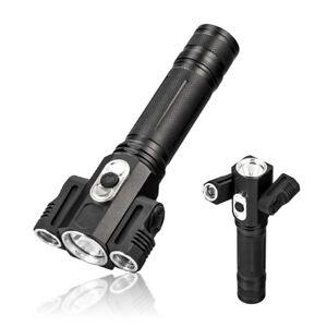 Tactical-10000-Lumen-3-LEDs-rotating-LED-Flashlight-Torch-Light-18650-Hunting