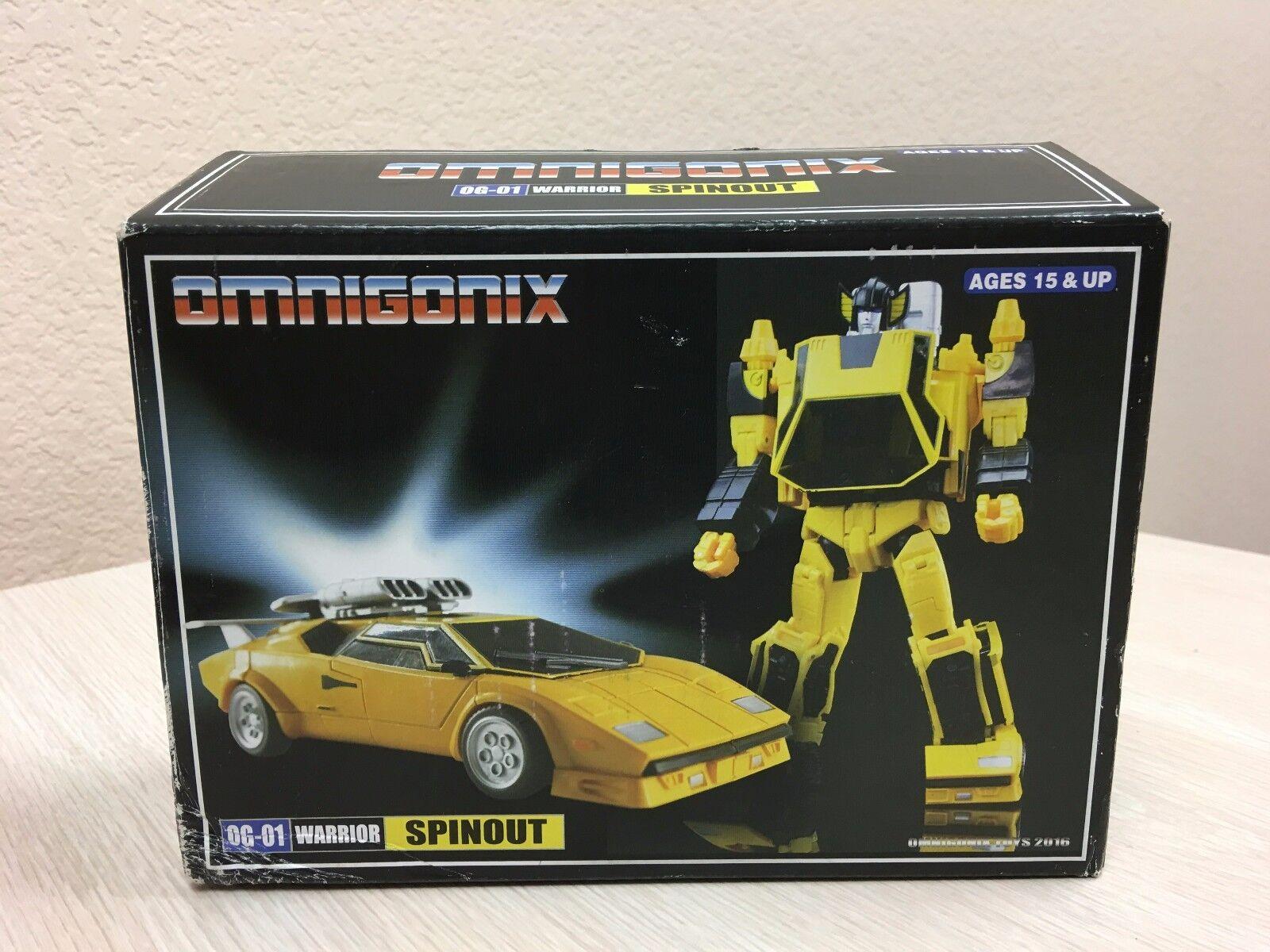 Third 3rd Party Transformers Omnigonix 0G-01 Warrior Spinout Autobot Decepticon