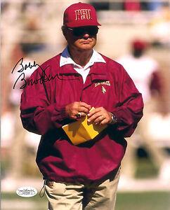 Autographs-original Bobby Bowden Signed Florida State Football Coach 8x10 Photo W/jsa Coa #2