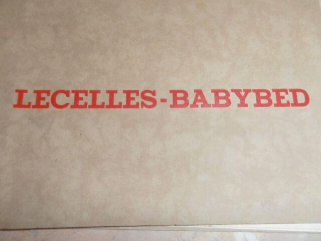 """Catalogue de lits pour enfants """"LECELLES-BABYBED"""" NORD 59"""