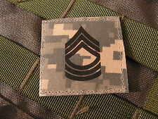 Galons US - 1ST SERGEANT - grade scratch ACU DIGITAL rank insignia SNAKE PATCH